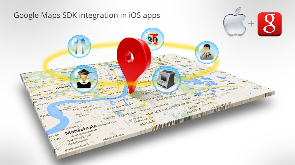 Google-Maps-SDK-integration