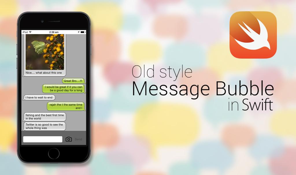 feature image message bubble