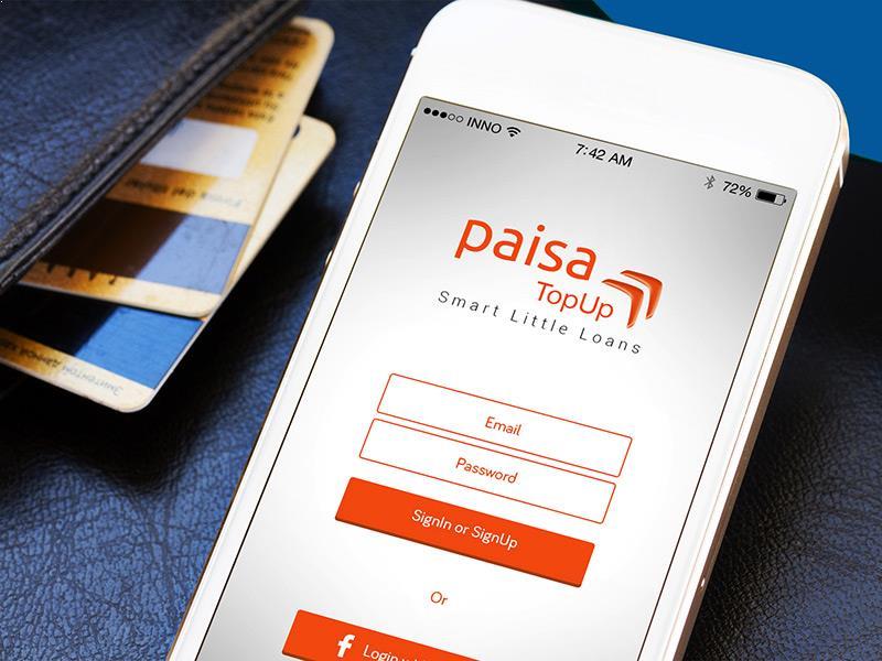 Paisa TopUp - Mobile App