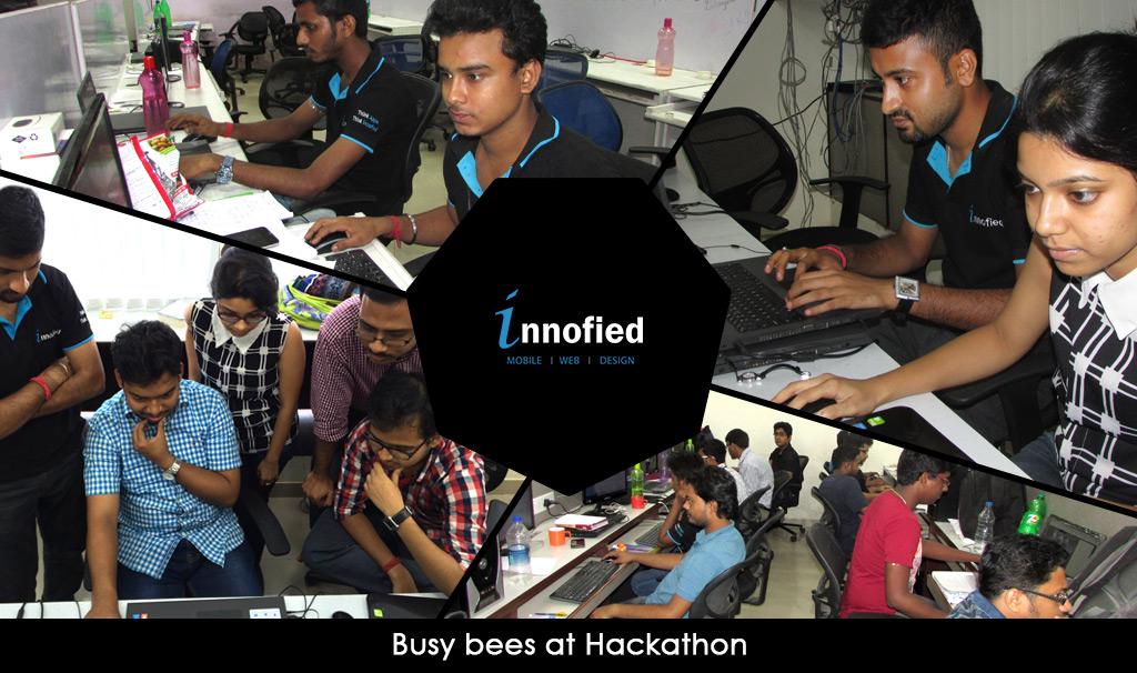 busy-bees-at-hackathon