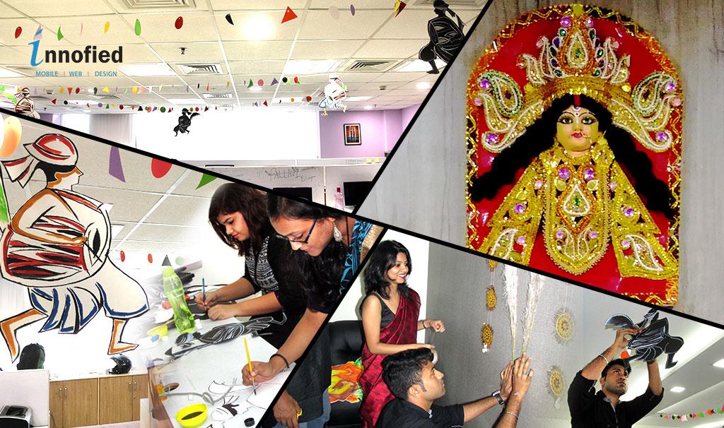 mahalaya art decoration