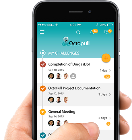 Octopull- Real-Time Project Utility App Developed by Innofied