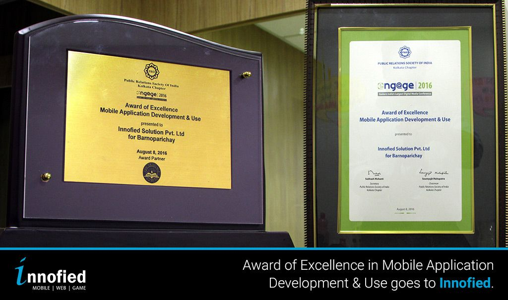 Awards for Innofied