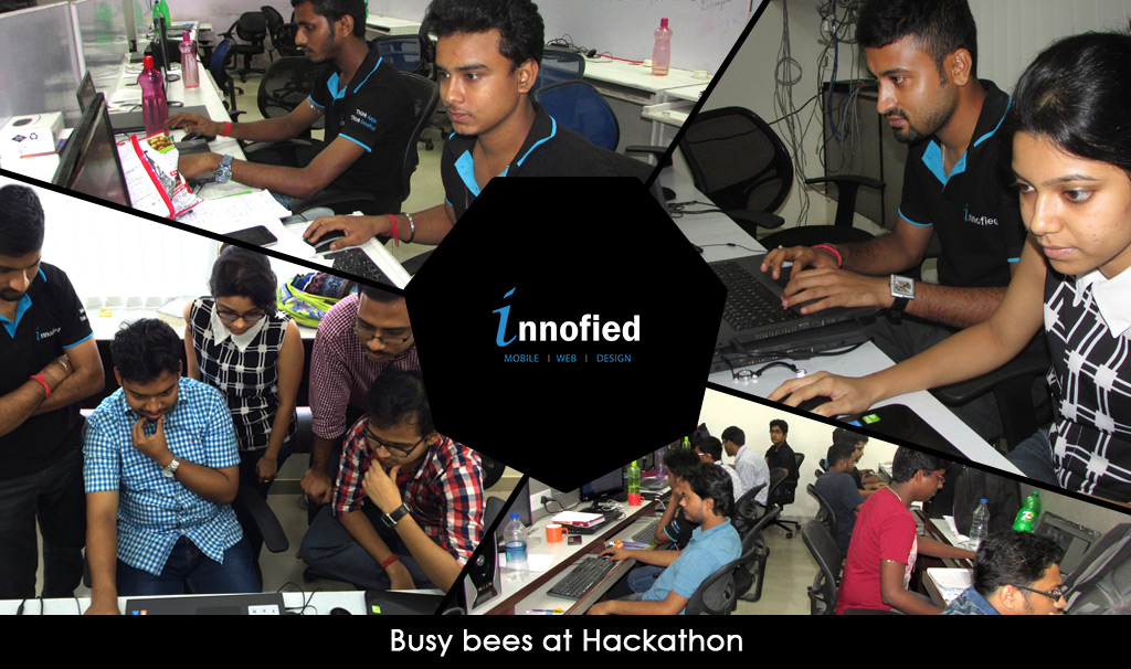 busy-bees-at-hackathon