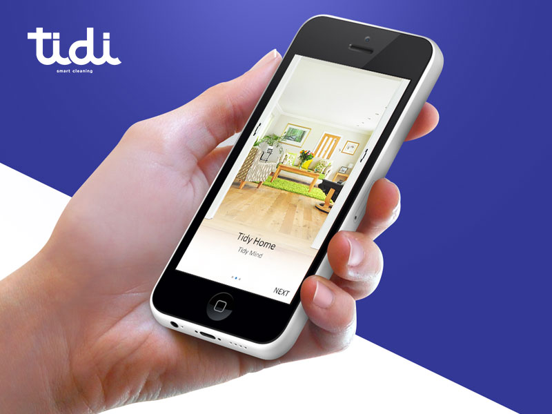 Tidi The On Demand Home Cleaning Service App