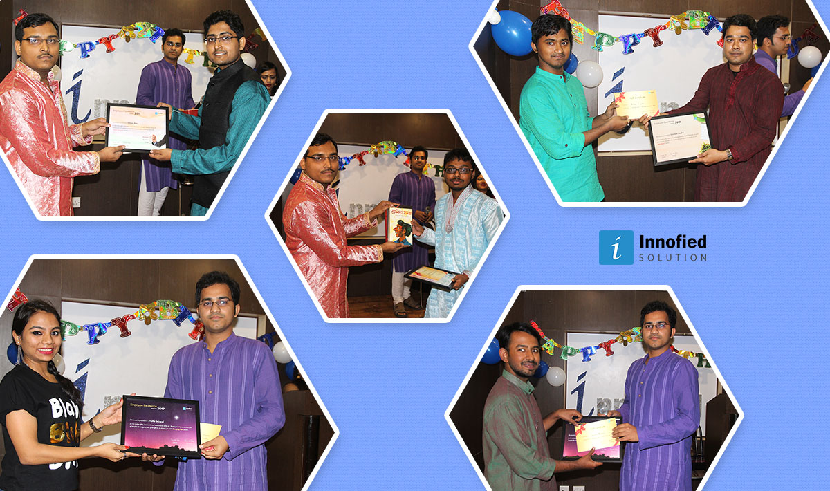 Awards on foundation day 1