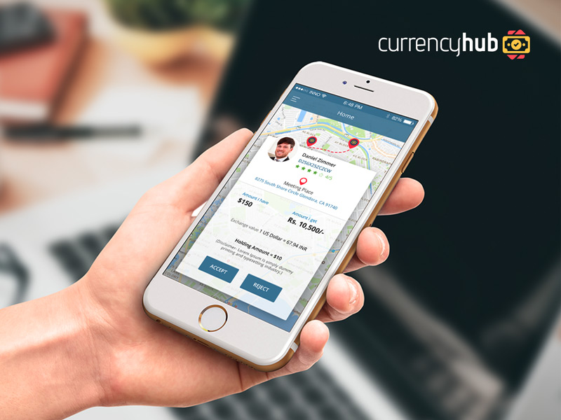 currencyhub-app-screens