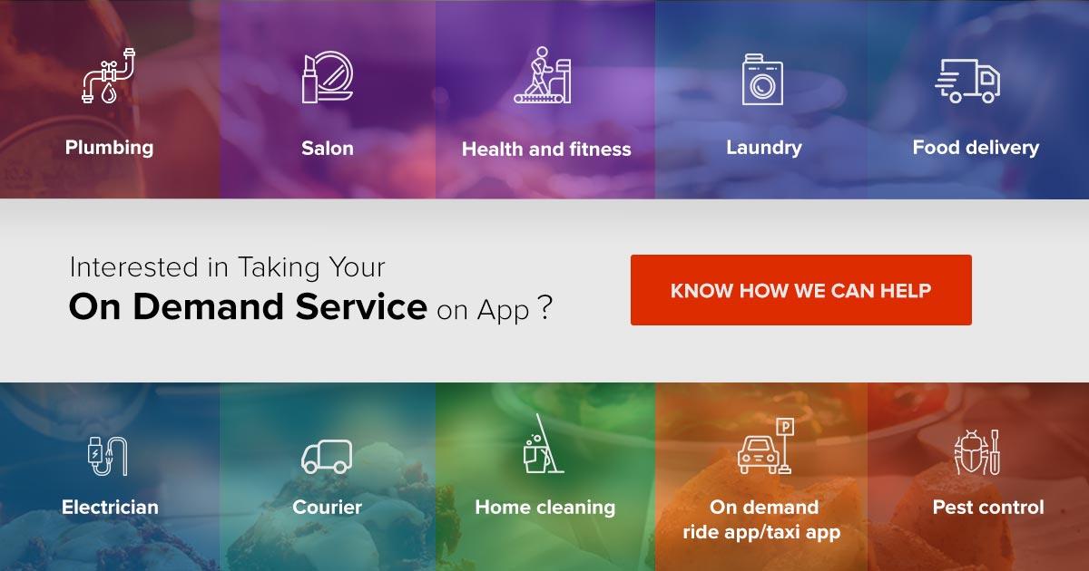 creat an on demand app
