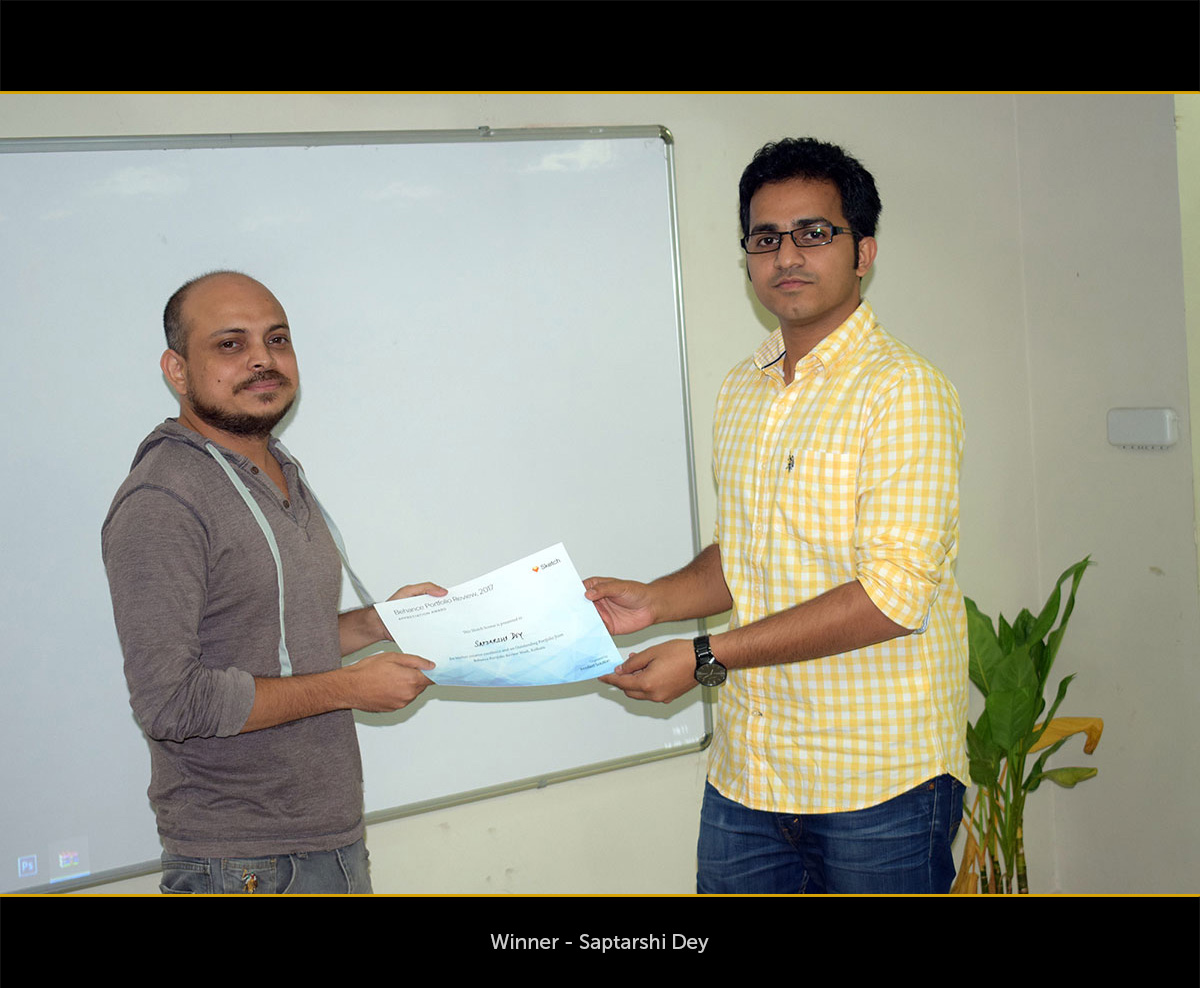 behance portfolio review winners