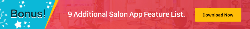 mobile app for beauty salon