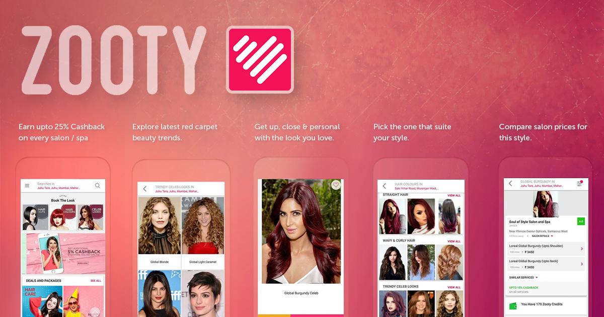 mobile app for beauty salon
