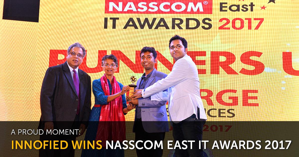leading app development company wins nasscom east it awards