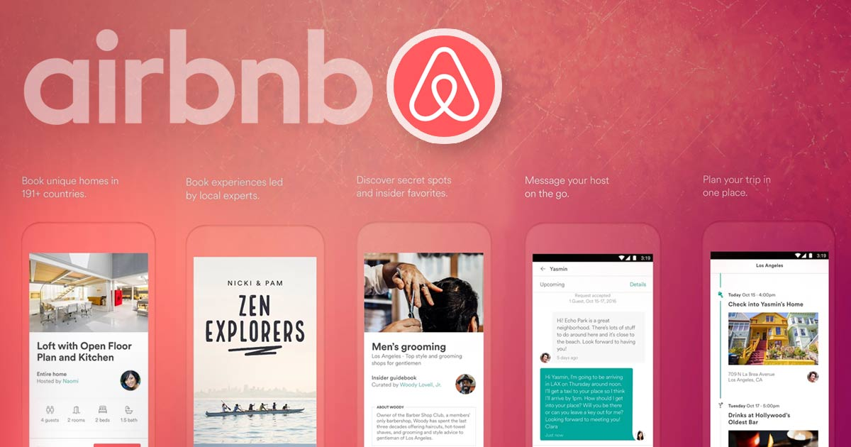 on demand app development in airbnb style