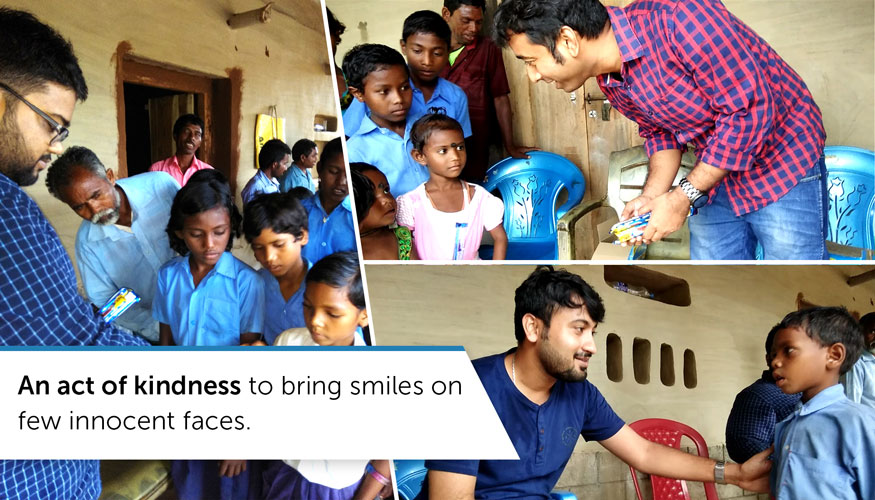 Innofied bringing smiles on innocent faces at Sido Kanhu Mission