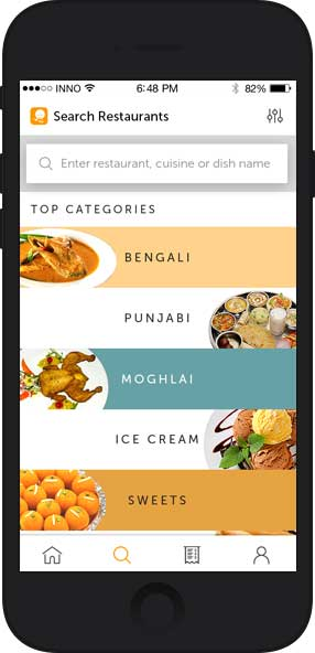 on demand food delivery app development customer app