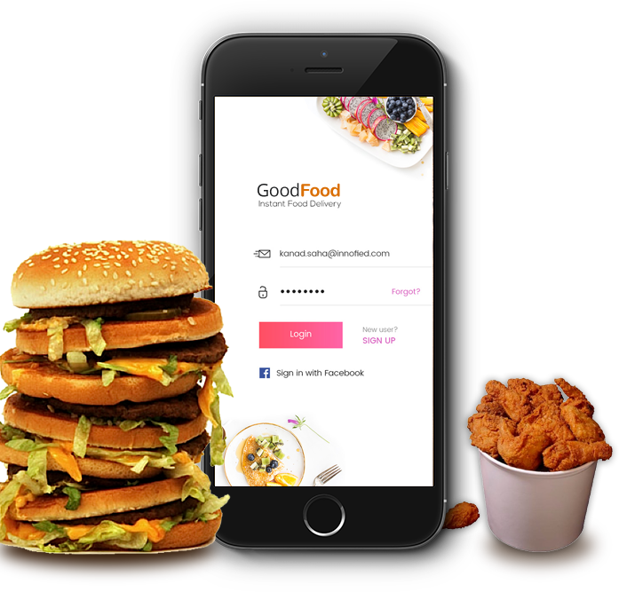 on demand food delivery app development