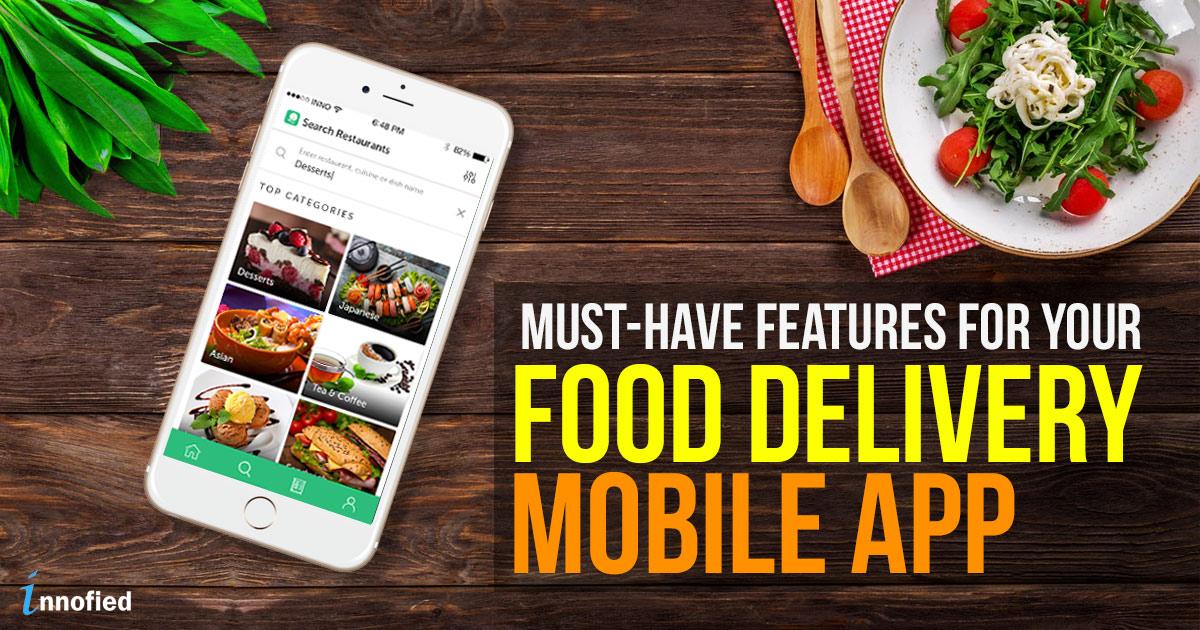 restaurant mobile app features