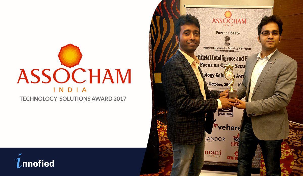 innofied wins assocham technology solution excellence award