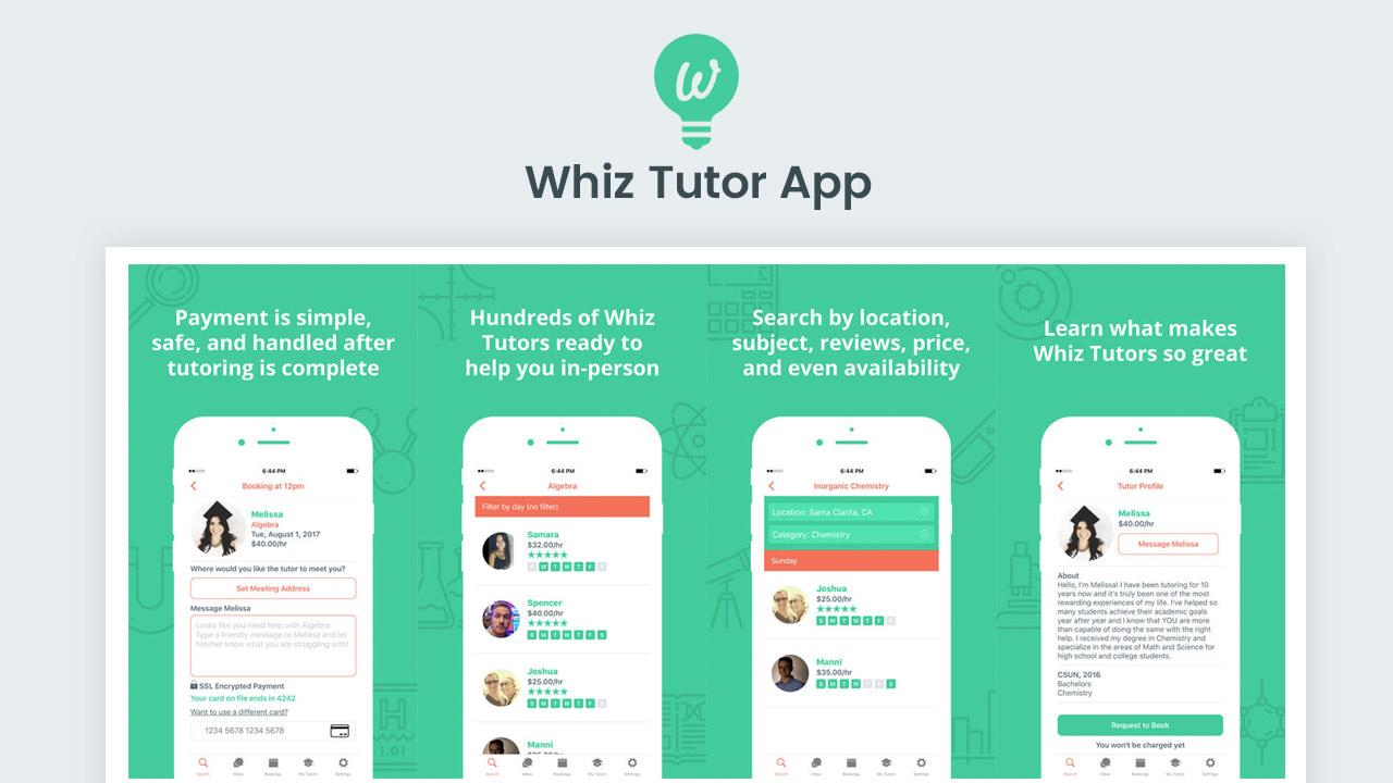 tutoring app like Uber