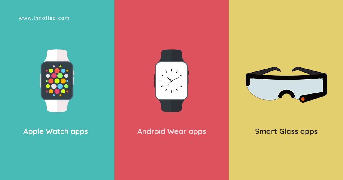 wearable app development for smart wears
