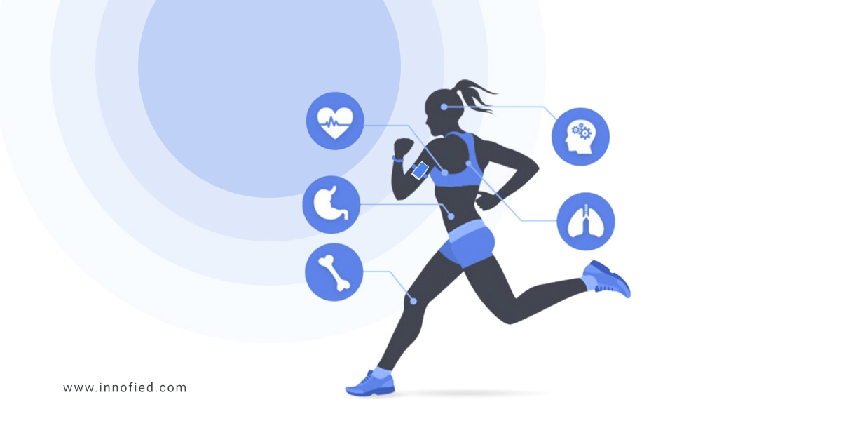 wearable app development for fitness and health
