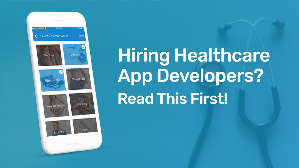 healthcare app developers